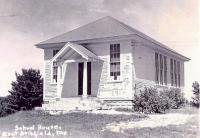East Otisfield School, about 1930