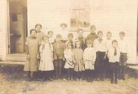 East Otisfield School, about 1913