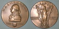 Washington bicentennial bronze medallion