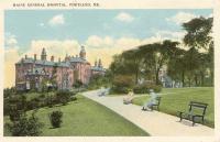 Maine General Hospital, Portland, ca. 1915