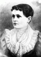 Alida Leese, Portland, ca. 1885