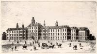 Maine General Hospital Sketch, Portland, ca. 1872