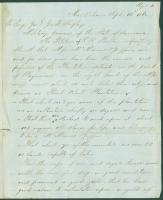 Petition for return of possessions, New Orleans, 1862