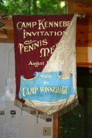 Camp Winnebago banner, 1931