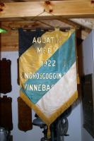 1922 Aquatic Meet banner at Camp Winnebago