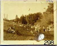 Outdoor supper field at Camp Winnebago, 1936