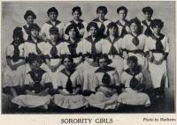'Sorority Girls,' Jefferson Theatre, Portland, 1912