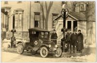 H. W. Shaylor Jr. and Fred Elder, Portland, ca. 1917