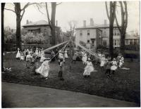 Waynflete School May Day, Portland, ca. 1905