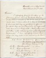 Col. Kimball request for release of prisoners, New Orleans, 1862