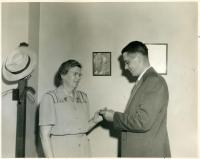 Grace Auber, Augusta, 1948