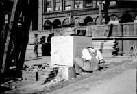 Cornerstone of City Hall, Portland, 1909