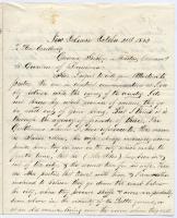 Letter to Gen. G.F. Shepley on 'enemies,' New Orleans, 1862
