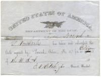 Loyalty oath to U.S., Louisiana, 1862