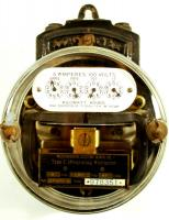 Type C electric meter, ca. 1906