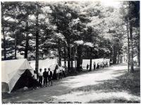 Camping at Goodwill Pines, Clinton, 1911