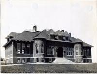 Quincy Manual Training building, Fairfield, 1911