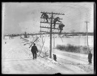 Snow Storm Damage, 1924