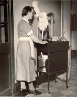 Hilda Moss, Maine General Hospital, Housekeeping
