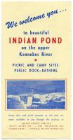Indian Pond brochure, ca. 1955