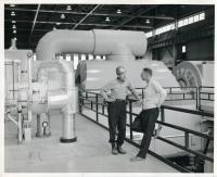 Wyman Station generating unit, Yarmouth, 1965