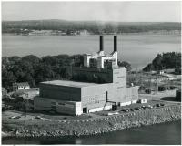W.F. Wyman steam station, Yarmouth, 1963