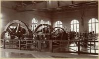 Forest Avenue power station interior, Portland, 1900