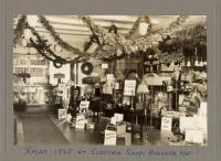 Electric shop display, Augusta, 1925