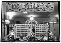 June bride window display, ca. 1925