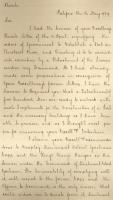 Copy of letter from Francis McLean to Henry Clinton, 1779