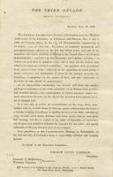 Invitation to American Anti-Slavery Society anniversary, 1863