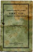 Electrical first-aid booklet, 1915