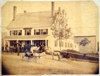Sawyer House and Livery Stable, Norridgewock, ca. 1890