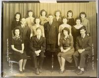 Norridgewock High School graduating class of 1945