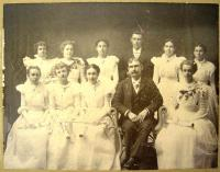 Norridgewock High School Graduating Class of 1898