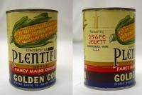 Jewett Vegetable Cans, Norridgewock, ca. 1900