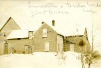 Gilbert Brown Home, Limestone, ca. 1909