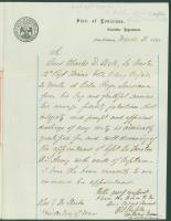 Gen. Shepley endorsement of Webb promotion, New Orleans, 1863