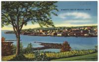 Birdseye view, Belfast, ca. 1938