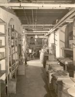 Maine General Hospital storeroom, Portland, 1926