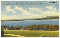 Great Pond, Belgrade Lakes, ca. 1938