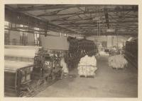Paper machines and scrap paper, Brewer, ca. 1920