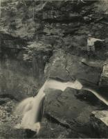 Albany Basin waterfall, ca. 1935