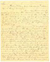 Charles Nealley appeal on son's desertion, 1863