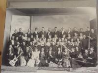 Early Painchaud Band, Biddeford, ca. 1900