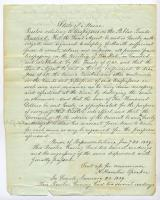 Resolution to send troops to Madawaska region, 1839
