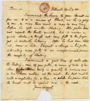 Benjamin Vaughan letter to Dr. Page about bloodletting