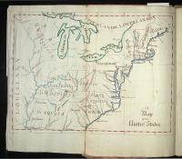 Lucia Wadsworth's Geography Notebook, 1794