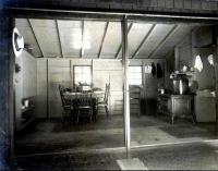 Frank Swan's summer camp, summer kitchen