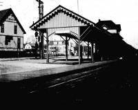 Railroad station, Woodfords Corner, Portland, 1911